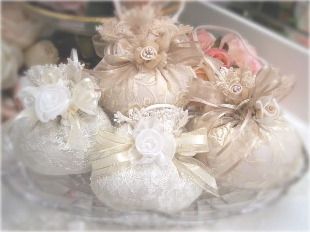 Romantic Victorian Home Collection: Wedding, Party Favors & Sachets