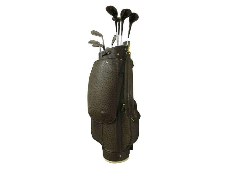 treccani milano ostrich golf bag from ahalife.com