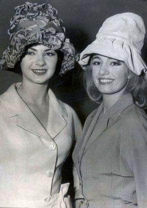 Christine keeler and mandy rice davies 1960 s