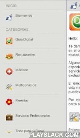Guia Digital  Android App - playslack.com , Guia Digital es un directorio de negocios que contiene todos los prestadores de servicios y comercios locales que tienen exactamente eso que tu estas buscando.ENCUENTRA:RESTAURANTES, MEDICOS, MULTISERVICIOS, FLORERIAS, SERVICIOS PROFESIONALES, TODO PARA TU FIESTA, PUBLICIDAD, BELLEZA, HOGAR, DEPORTES, AUTOS, HOTELES, VIAJES, EMERGENCIAS, ANUNCIOS CLASIFICADOS y créenos… muchísimo más!ANUNCIOS CLASIFICADOS:Venta de autos, venta de artículos…