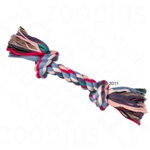 Corde à nœuds multicolore - Jouet pour chien - zooplus