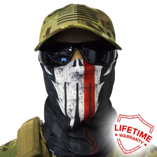 1 Face  Sun Shield Neck Gaiter Balaclava Neckerchief Bandana Headband