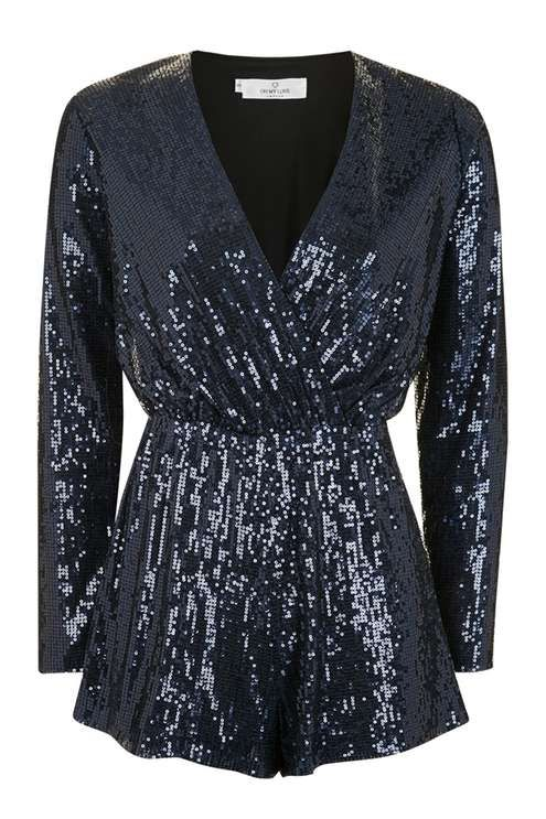 **Sequin Playsuit by Oh My Love