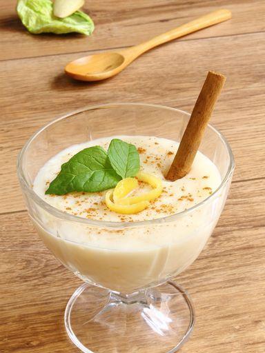 lait de coco, citron, lait, riz basmati, noix de coco, sucre