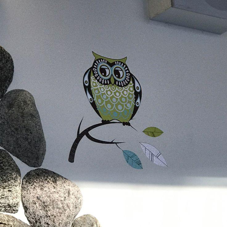 Wall decoration at WTC Helsinki-Vantaa.