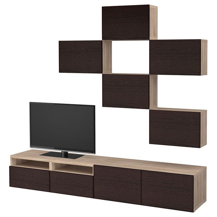 mer enn 25 bra ideer om tv & hifi möbel på pinterest   wand tv und