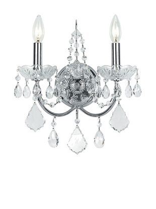 72% OFF Swarovski Chandeliers by Gold Coast Lighting Elegant Wall Sconce, Polished Chrome