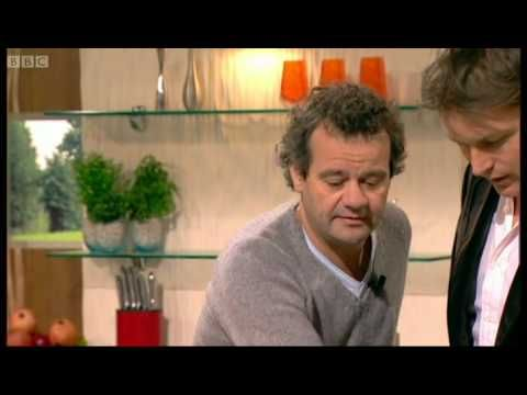 Two Quadrille favourites together - Mark Hix and James Martin on Saturday Kitchen.
