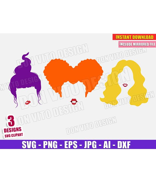 Sanderson Sisters Svg I Smell Children Svg Hocus Pocus Svg Etsy Cute Halloween Witch Hair Sanderson Sisters