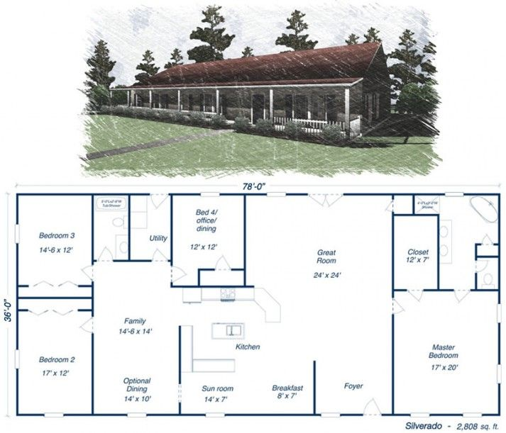 17 best ideas about shop house plans on pinterest pole barn house plans metal house plans and - Home plans prairie style space as far as the eye can see ...