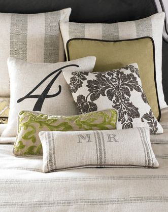lovely monogrammed pillows  http://rstyle.me/n/sf7dapdpe