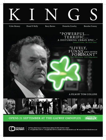 Kings: Men return home for a funeral. Mostly in Irish with subtitles.