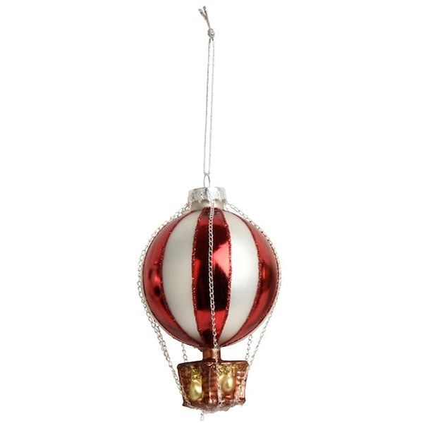 Hängande julfigurer av glas, olika storlekar. Finns även flera andra modeller, storlekar och färger.
