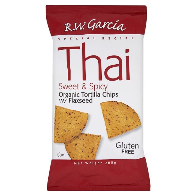 Garcia Organic Thai Tortilla Chips at Ocado - tasty and spicy #glutenfree flaxseed snacks surprise your guests with nibbles with punch!