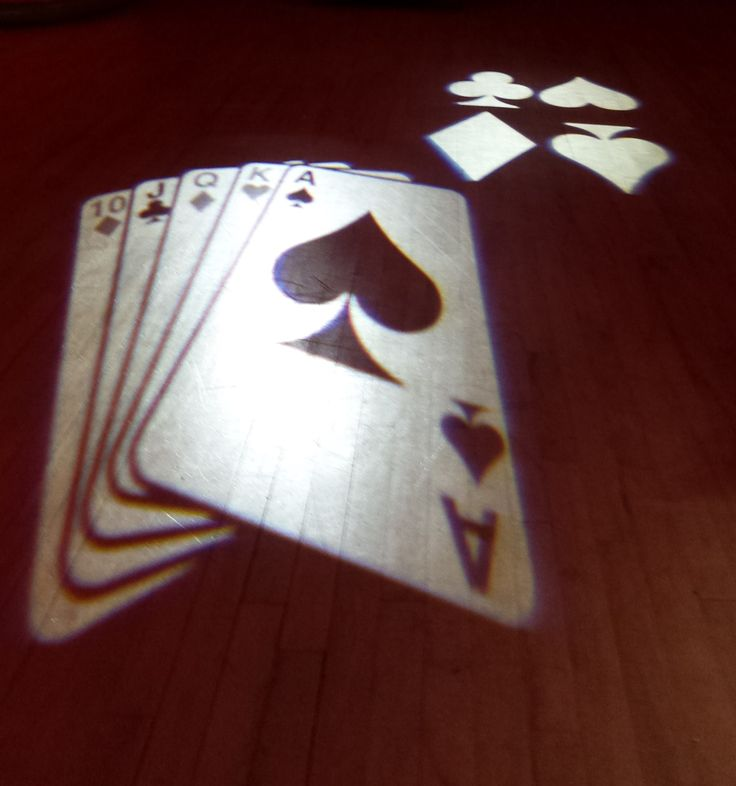 Ewhurst Village Hall, Fundraiser - Casino playing cards