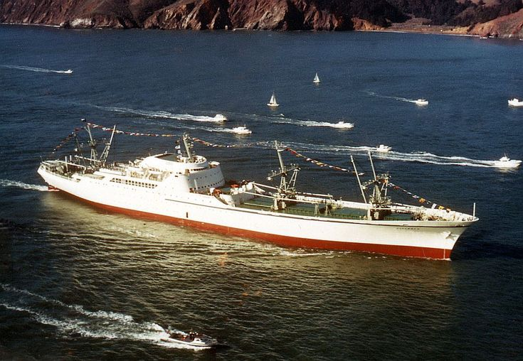 savannah, first nuclear powered cargo ship, had the chance to tour this ship when it was on loan to patriots point
