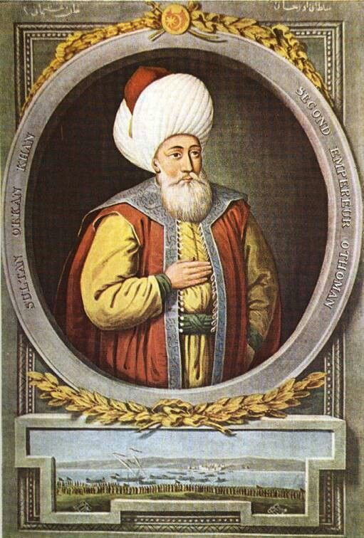Sultan Orghan Gazi the Second Sultan of the Ottoman Empire.