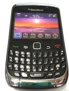 a nuevo blackberry curve 9300 movil de visualizacion maniqui juguete ninos todler negro muestra