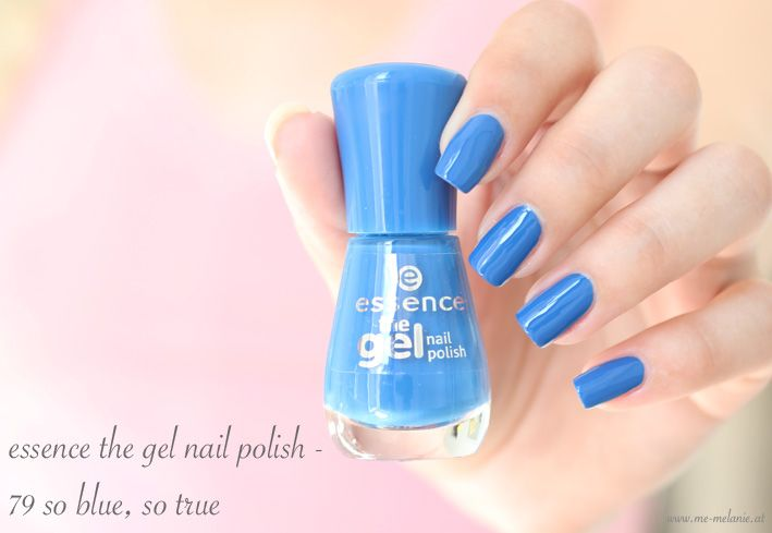 essence the gel nail polish - 79 so blue, so true