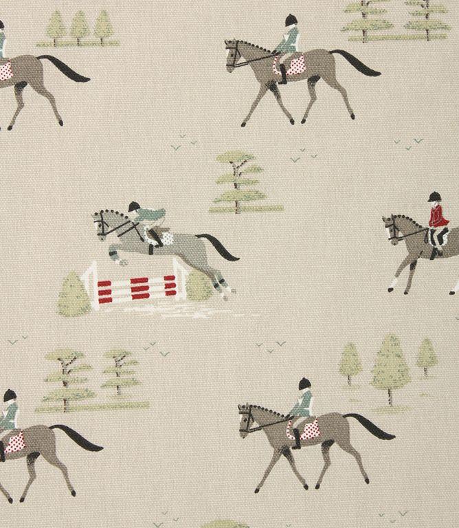 Sophie Allport Horses Fabric / Multi Great and fun horse riding fabric, discount designer fabrics