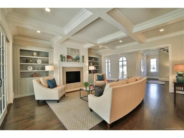 luxury half bathrooms. New Two Story Brick Home On Quiet Myers Park Designed By Chris Phelps! Luxury Half Bathrooms