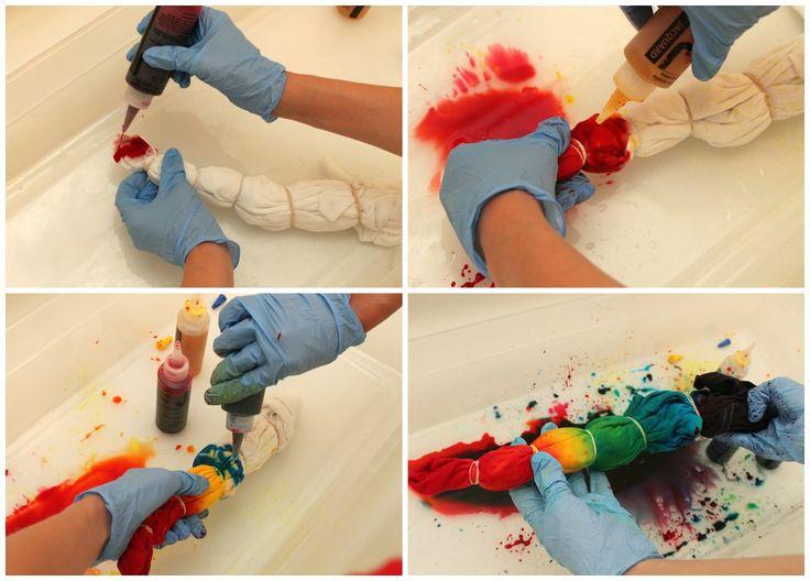 Hippie Halloween Costume...AKA: how to tie dye!