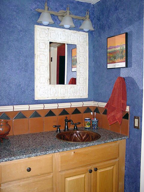 Mexican Style Bathrooms | Spanish/Mexican Style Bathroom