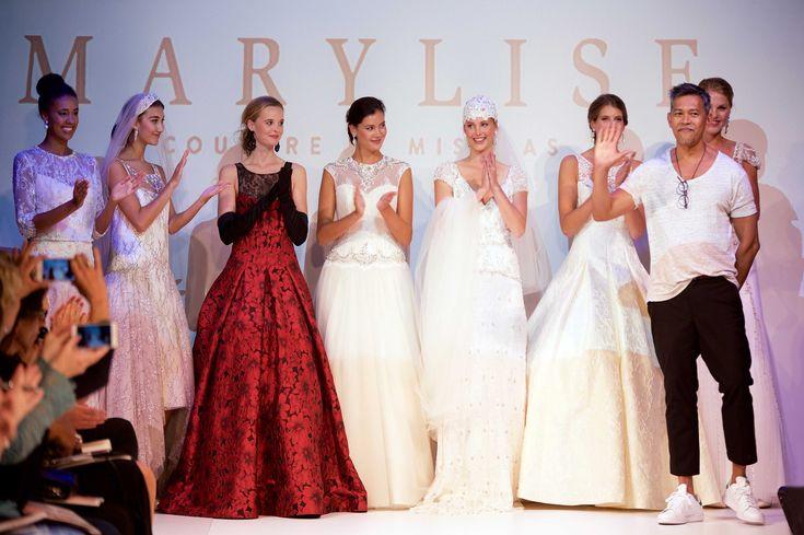 De Marylise couture collectie, ontworpen door Alden Misolas // Foto: Marylise // Girls of honour
