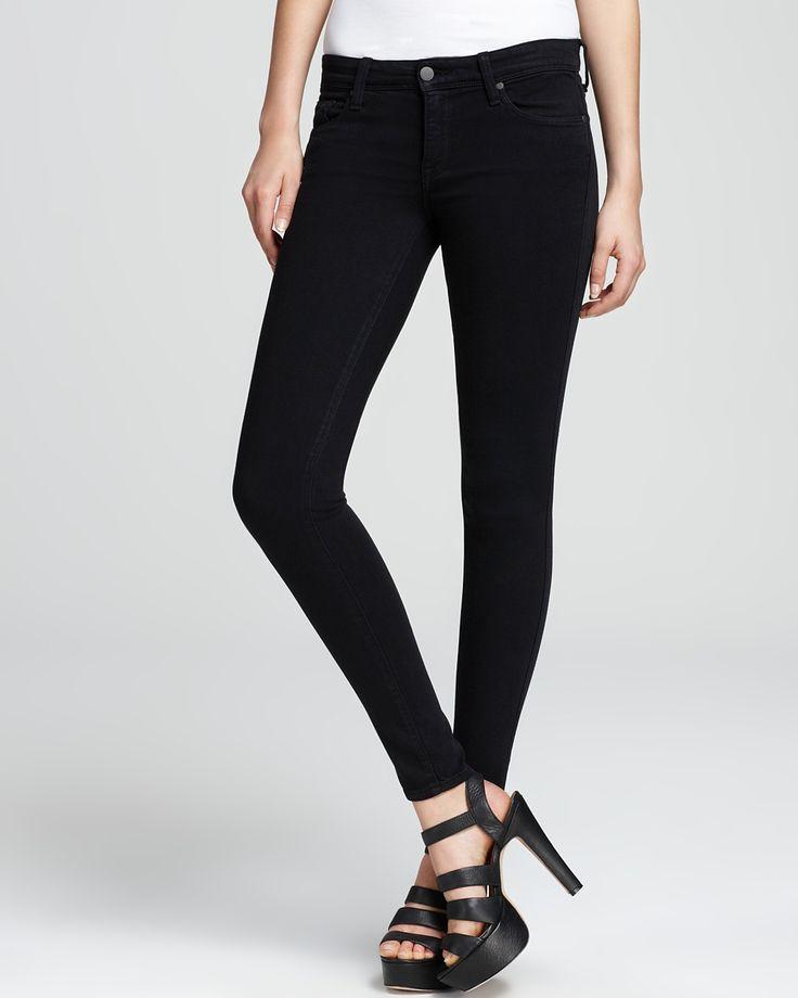 Genetic Denim Jeans - The Shya Skinny in Dark Tin   Bloomingdale's