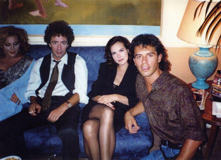 DONNE CON LE GONNE con Francesco Nuti e Carole Bouquet (foto fatta da Ferzan Ozpetek)