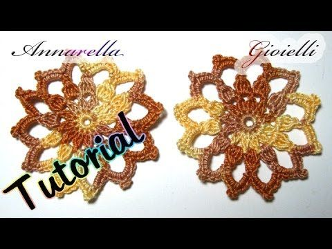 Tutorial orecchini natalizi | How to crochet christmas earrings