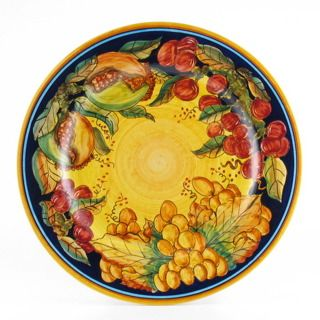 Frutta Classica Italian majolica dinner plate  sc 1 st  Pinterest & 136 best ? Pottery You Love ? images on Pinterest | Italian ...