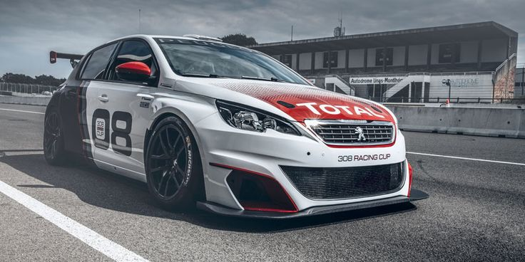 #Peugeot308RacingCup #sportscar #PeugeotSport #race #racing