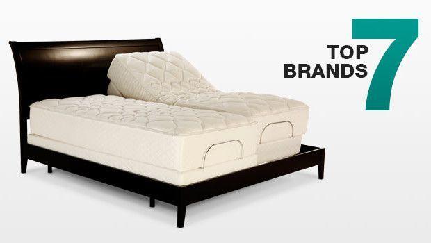 Review Of Top 7 Adjustable Bed Brands Adjustablebeds Adjustable Beds Adjustable Bed Frame Bed