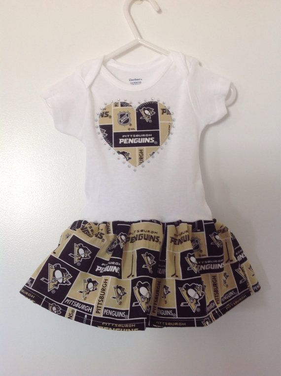 Hey, I found this really awesome Etsy listing at https://www.etsy.com/listing/206675908/pittsburgh-penguins-infant-dress