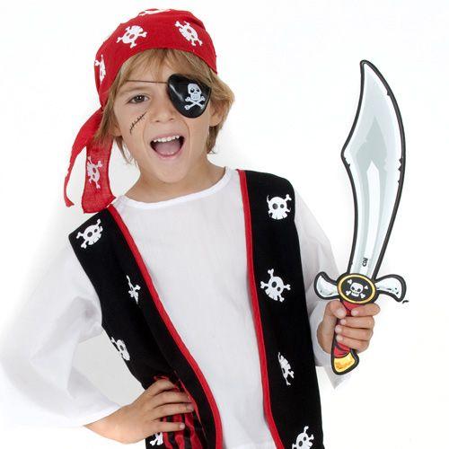 Spada da pirata atrezzo SABLE