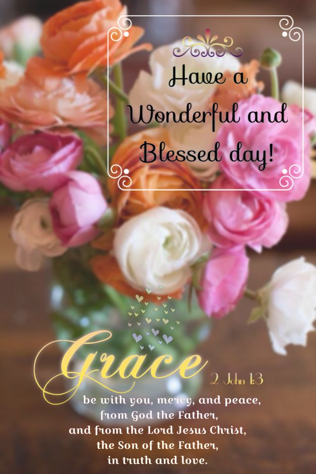Good morning dear friend! I Praise God! For His precious Grace, love, peace, strength and truth upon our lives, through Christ Jesus, His beloved son and our beloved Saviour! Glory Hallelujah! Amen. I pray you will have a wonderfully blessed day today! God Bless You❤️ Sending love and hugs. Noni. xoxo