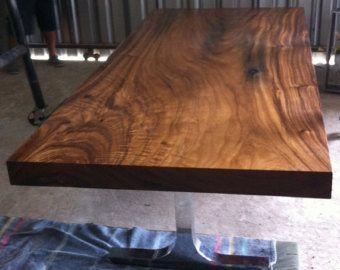 Live Edge Dining Table Acacia Wood Live Edge Reclaimed by flowbkk