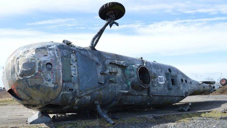 Haunting images of the UK's redundant RAF bases