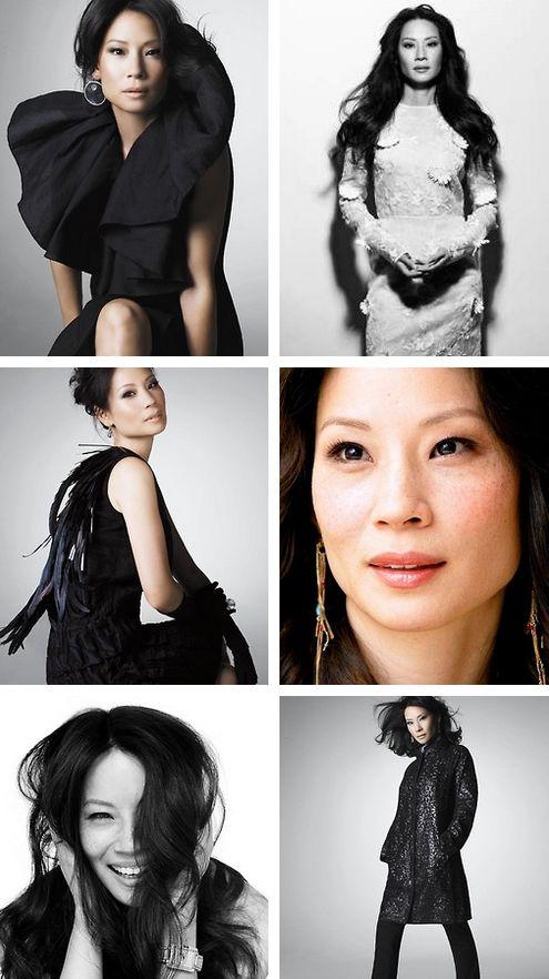 """Lucy Liu (Dr. Joan Watson, """"Elementary"""")"""