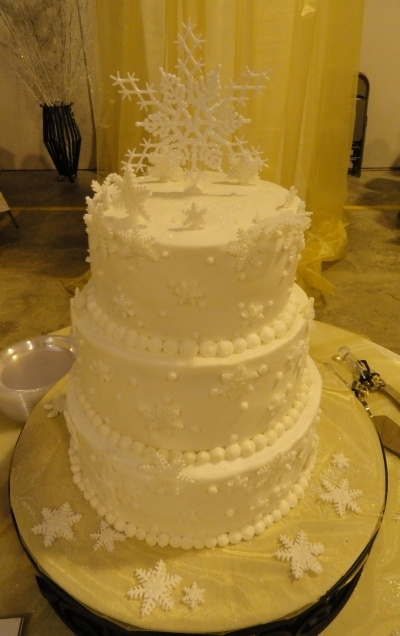 Winter Wonderland By Peachestate On CakeCentral.com · Tiered CakesWinter  WonderlandBaby Shower ...