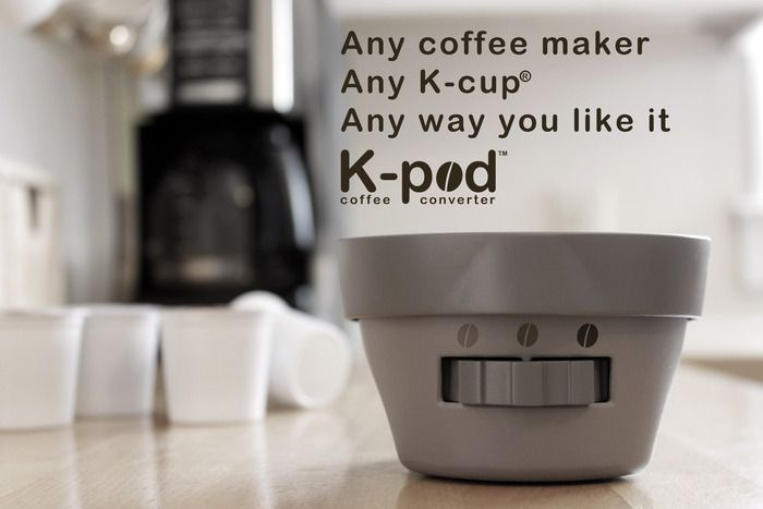 The K-pod Enables Home Coffee Brewers to Use K-Cups - Best Coffee For You