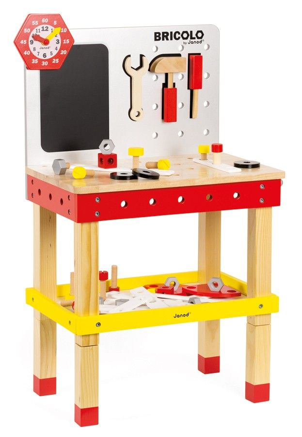 Janod Bricolo DIY Tool Work Bench and Tools