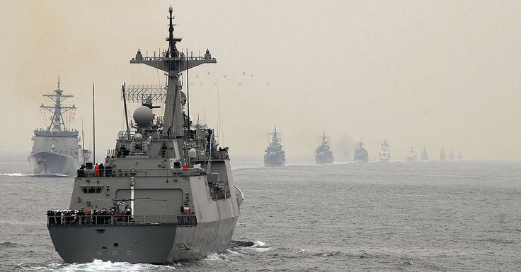 US And South Korean Missile Destroyers In Fresh Show of Force to North Korea