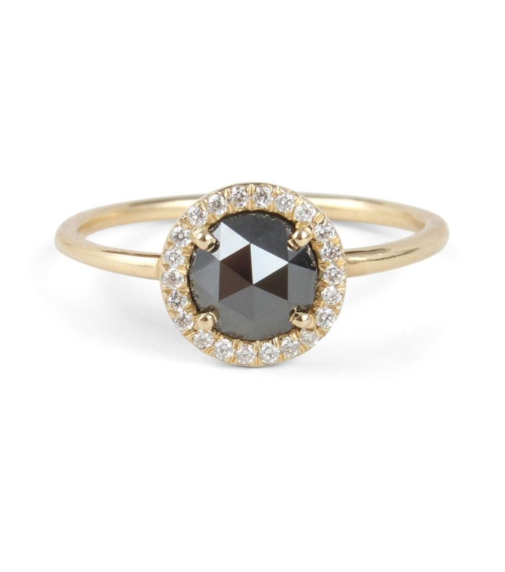 Catbird :: shop by category :: JEWELRY :: Rings :: Aura Ring, Black Diamond