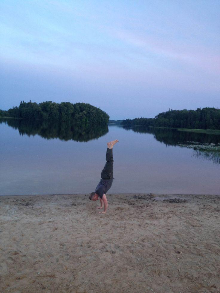 Handstand @ Puhajarve