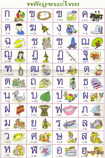 Best  Images On   Languages Thai Alphabet And