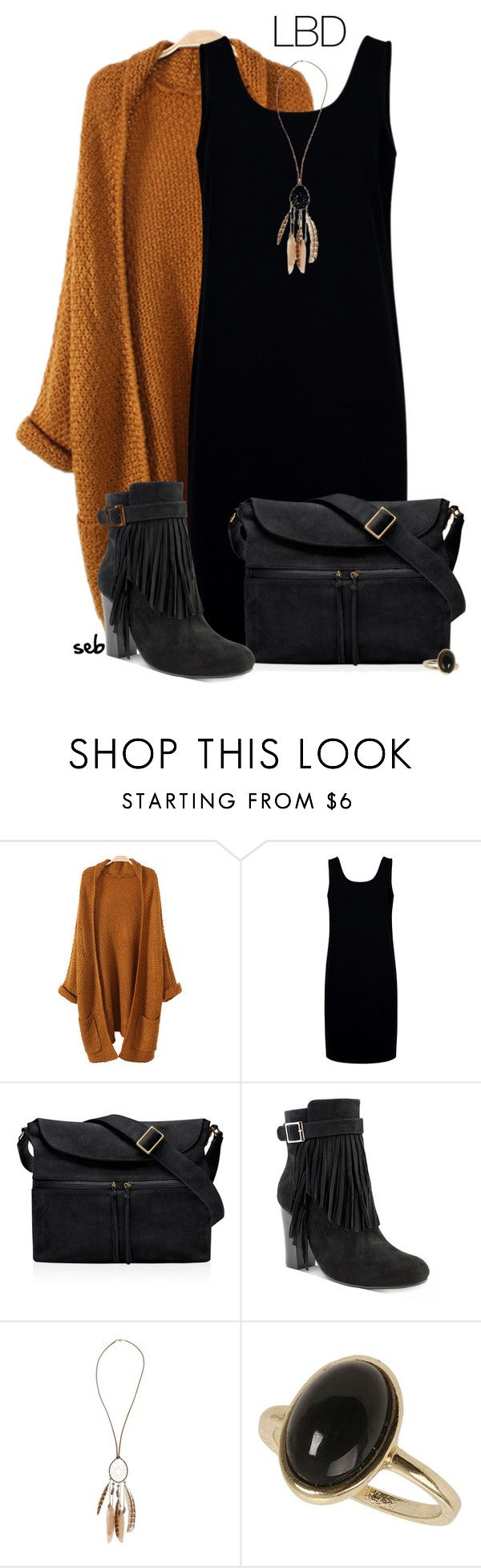 """""""Fall LBD"""" by coombsie24 ❤ liked on Polyvore featuring Être Cécile, Elizabeth and James, OLIVIA MILLER and Dorothy Perkins"""