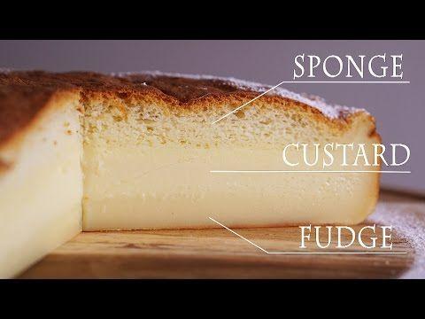 Deze magische custard taart maak je met slechts één beslag maar de taart bestaat uit 3 lagen…     Lekkere gerechten - Part 2