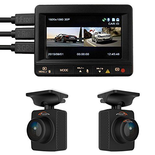 Special Offers - Dual Car Dash Camera K1S TWOBIU GPS Logger Front and Rear 1080p Remote Lens Cameras 140 Degree lenses 64GB microSD capacity Ambarella A7LA70 - In stock & Free Shipping. You can save more money! Check It (January 22 2017 at 01:43AM) >> https://hometheatersusa.net/dual-car-dash-camera-k1s-twobiu-gps-logger-front-and-rear-1080p-remote-lens-cameras-140-degree-lenses-64gb-microsd-capacity-ambarella-a7la70/